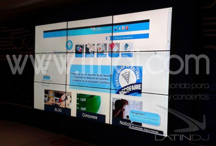 pantallas, video wall