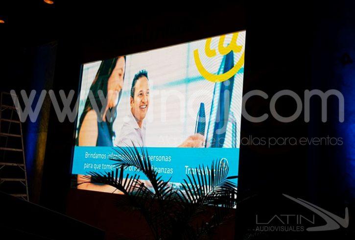alquiler de pantalla led para eventos