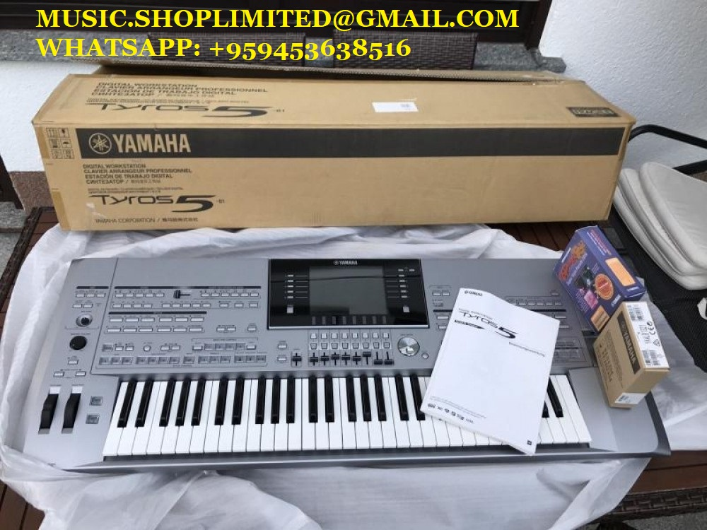 Tyros5 New packed Mushop