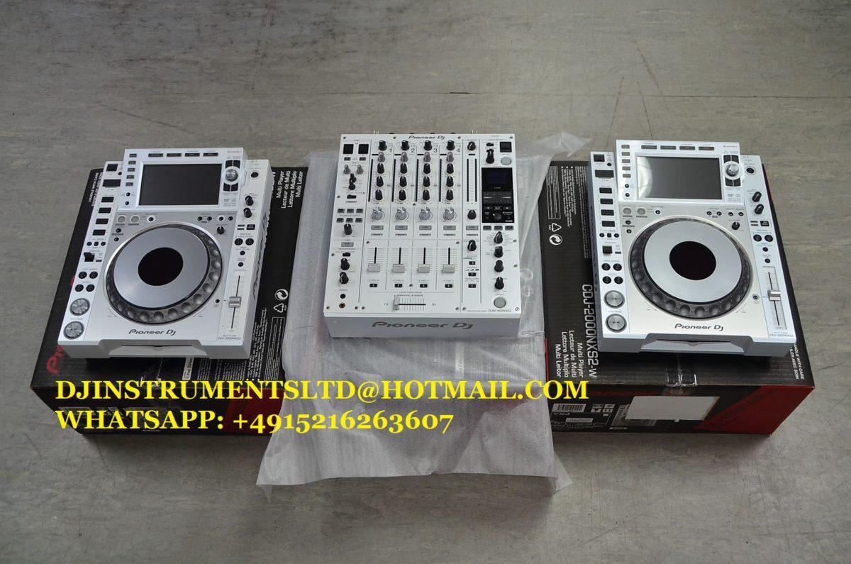 Pioneer CDJ-2000NXS2-W & DJM-900NXS2-W Limited Edition DJ Set mucshop
