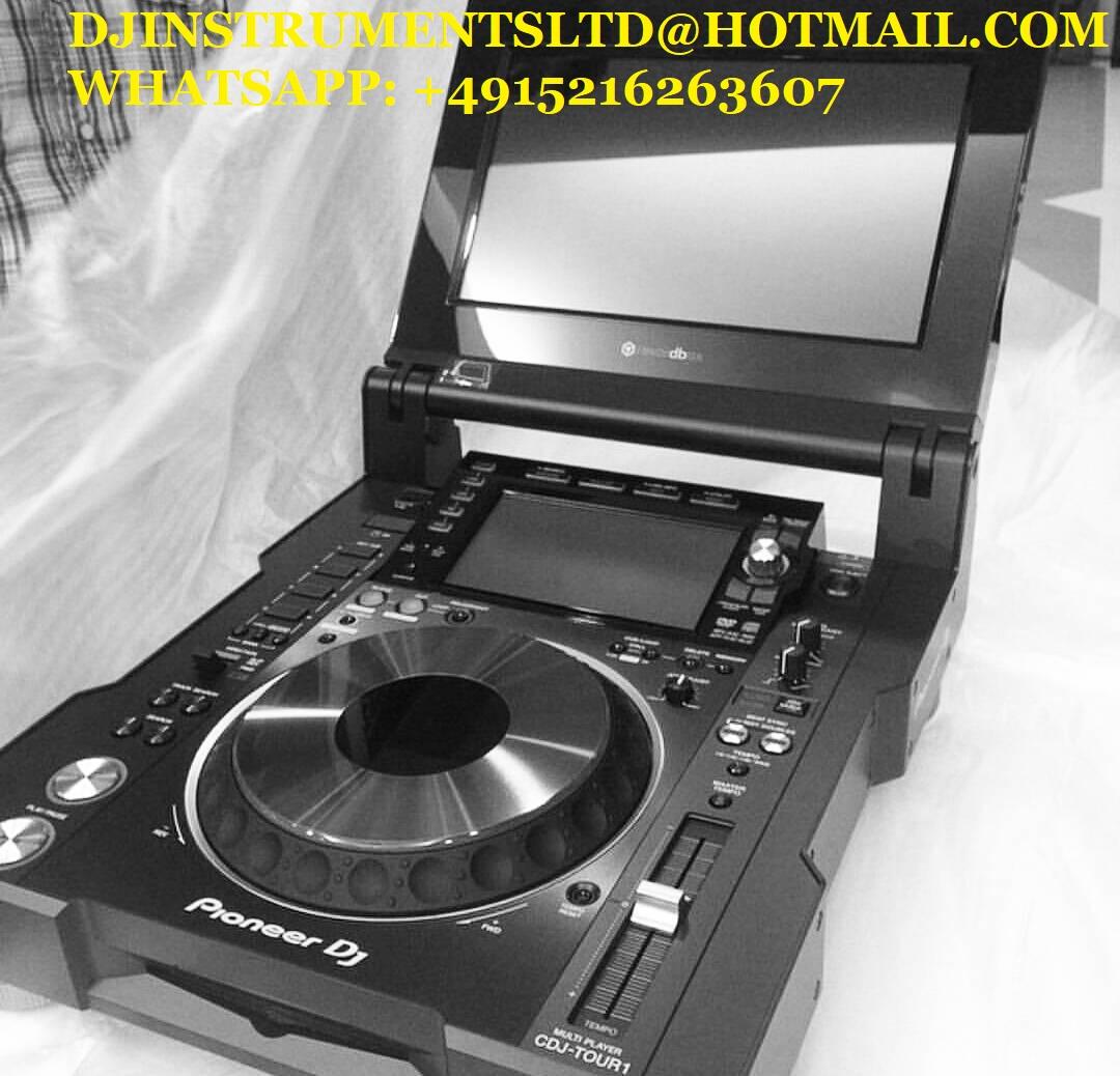 Pioneer DJ CDJ-TOUR1 DJINSTR